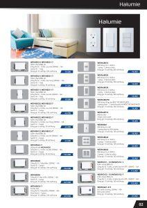 Bảng giá + Catalogue thiết bị điện Panasonic