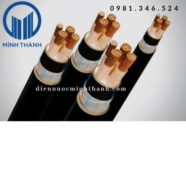 Cáp 4 lõi hạ thế(Cu/XLPE/PVC)