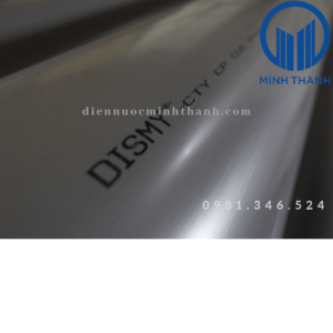 Ống HDPE, PVC, PPR Dismy chất lượng tốt, giá hợp lí