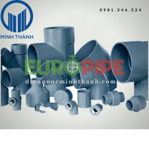 Phụ tùng PVC Europipe