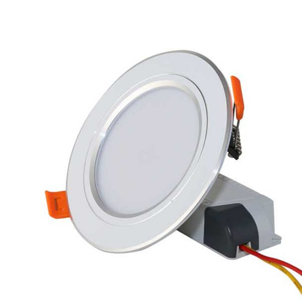 Đèn LED Âm trần Downlight 90.7W (Viền bạc)