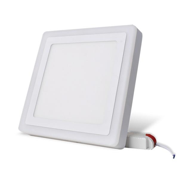 Đèn LED Ốp trần vuông đổi màu 24W